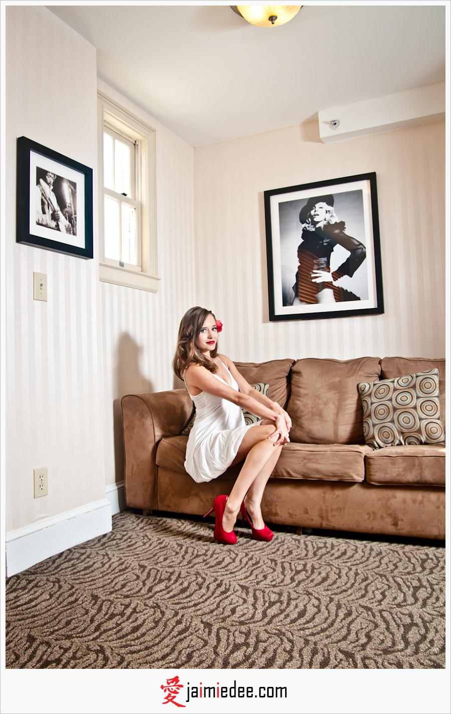 Photoshoot at the Artmore Hotel | Midtown Atlanta