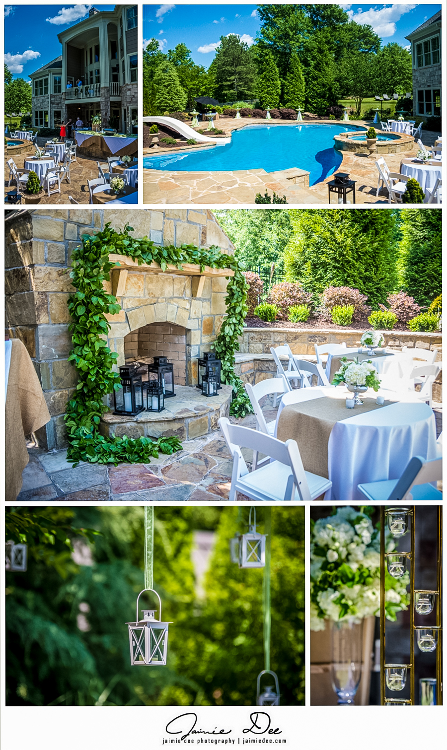 Backyard Wedding Reception Pictures | Atlanta Wedding Photograph