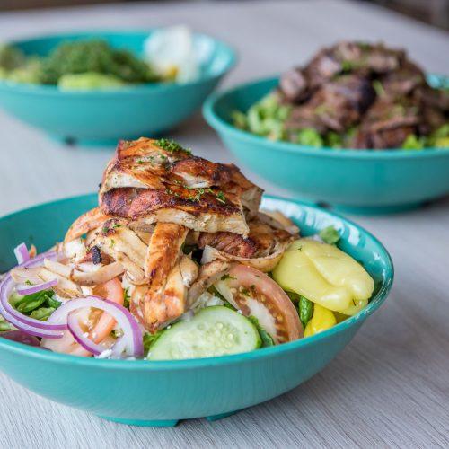 Photographer Atlanta - Aladdin's Mediterranean Grill Menu Food