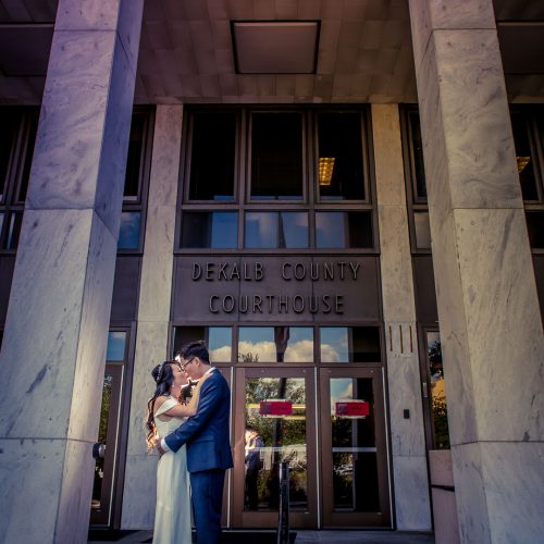 Atlanta courthouse wedding photographer