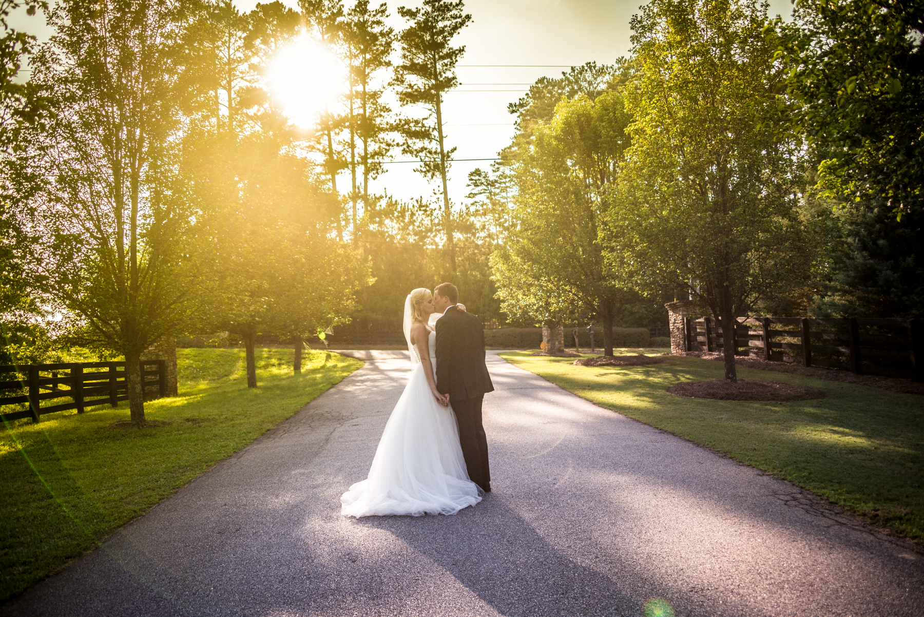backyard wedding reception pictures | atlanta wedding photographer