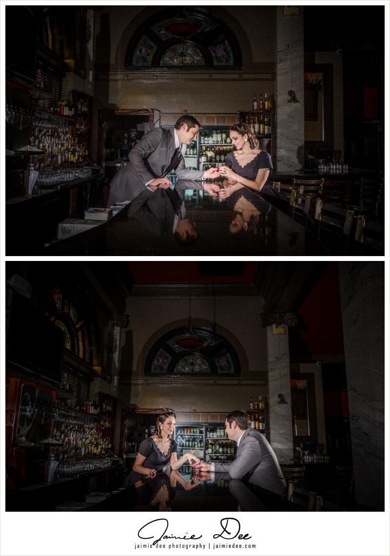 Athens Engagement Photos | South Kitchen and Bar | Atlanta Wedding Photographer