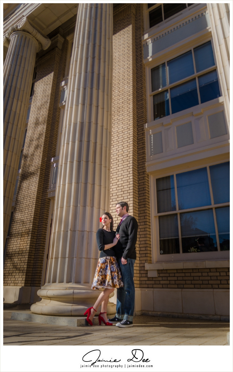 Athens Engagement Photos | South Kitchen and Bar | Atlanta Wedding Photographer