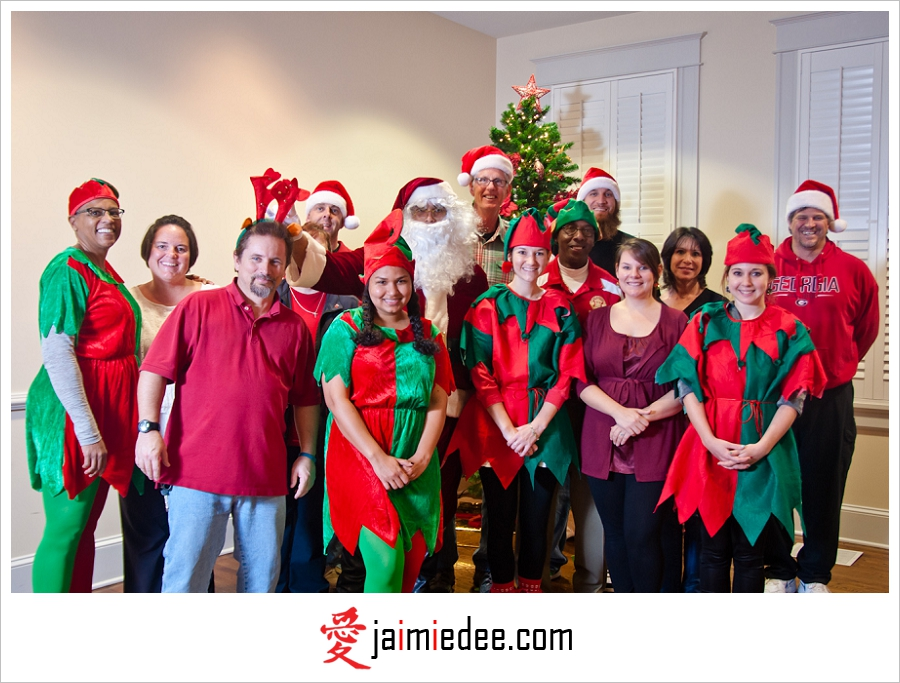 Atlanta Corporate Photographer | Smyrna, GA; Brawner Hall | Holiday Toy Drive