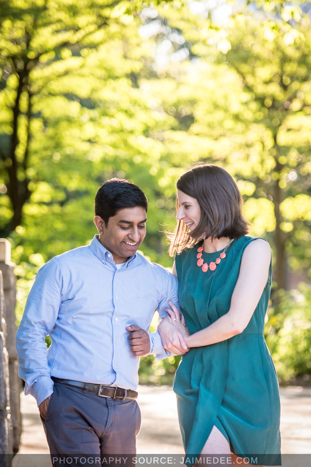 Atlanta Park Engagement Photos