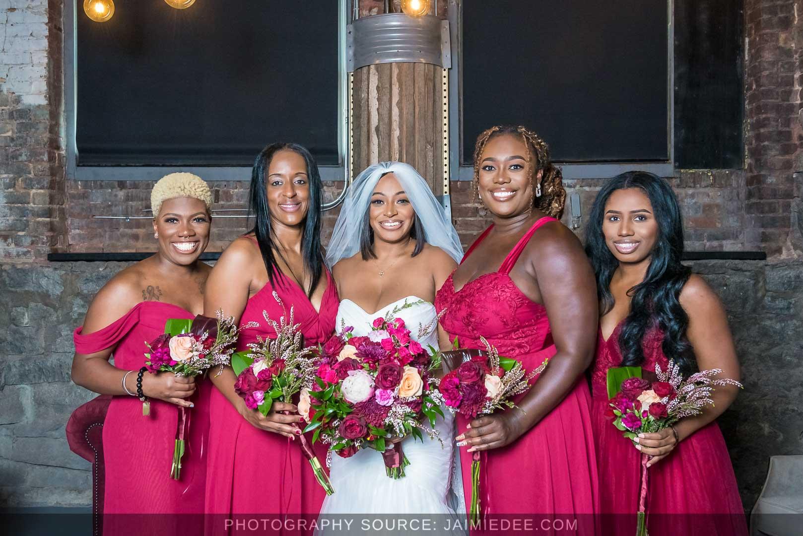 Terminus 330 Wedding Photos - bridesmaids