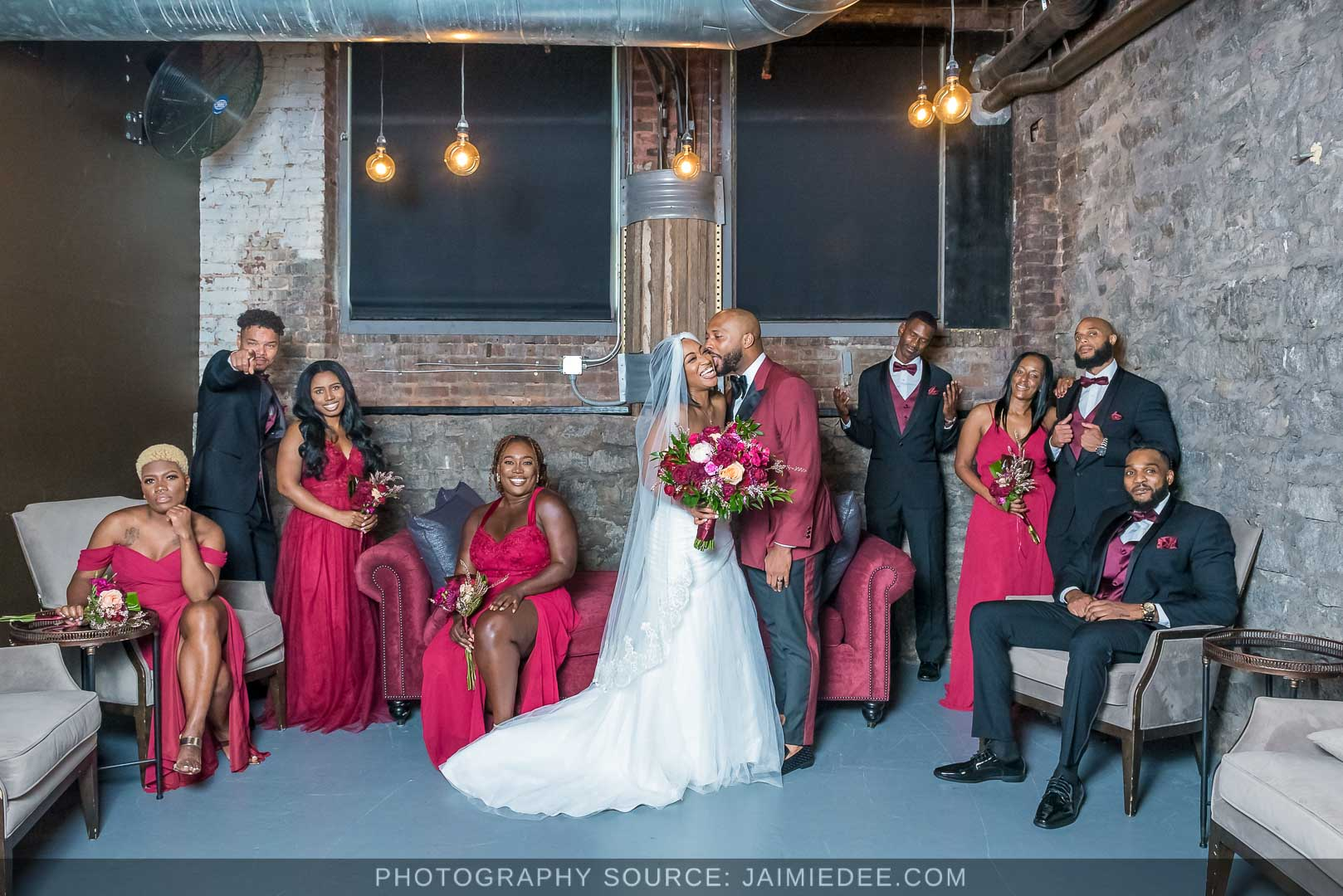 Terminus 330 Wedding Photos - bridal party