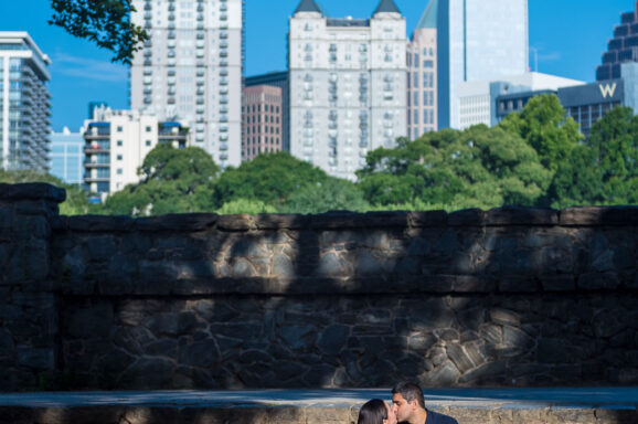 Atlanta Beltline Engagement Photos