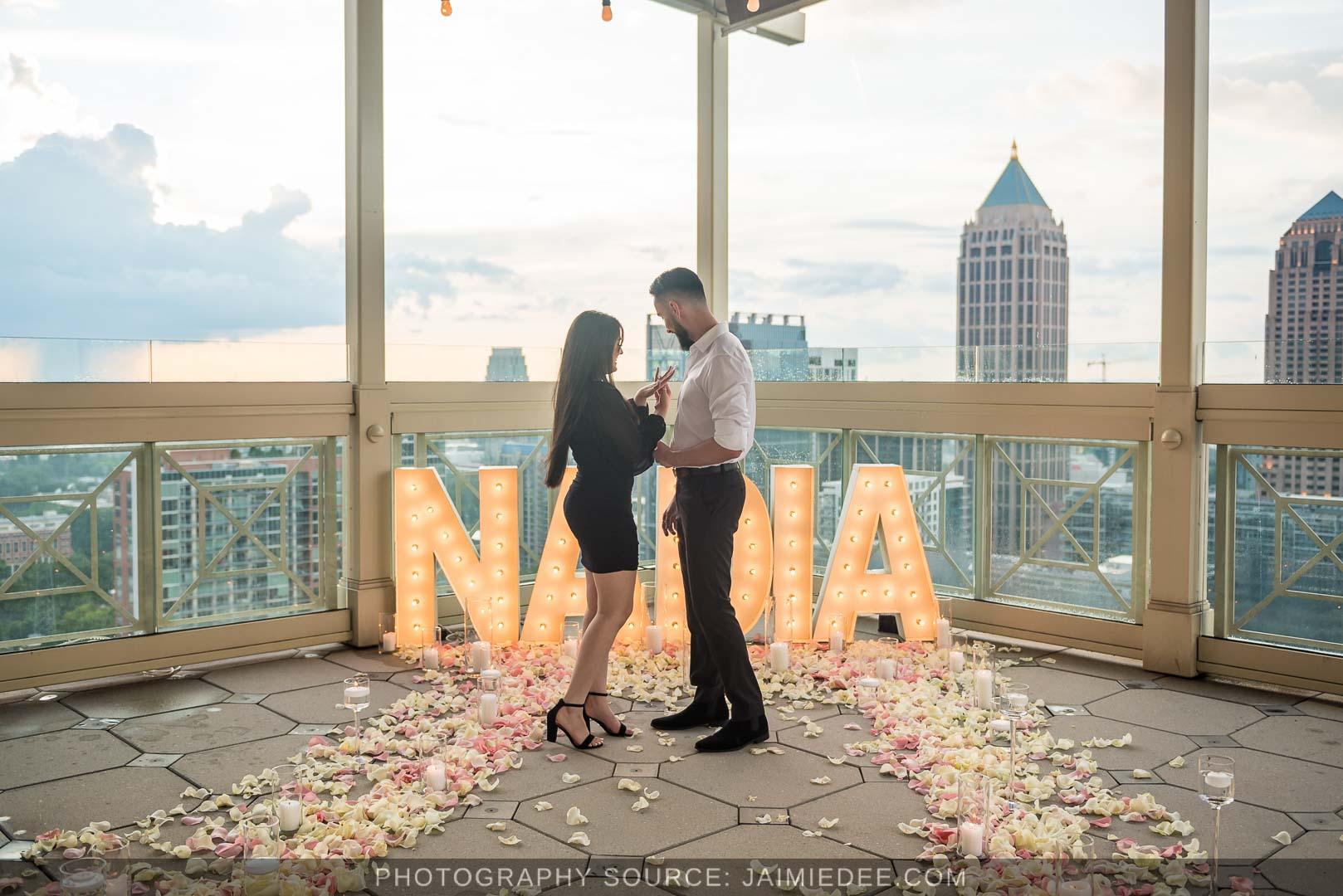 atlanta rooftop proposals