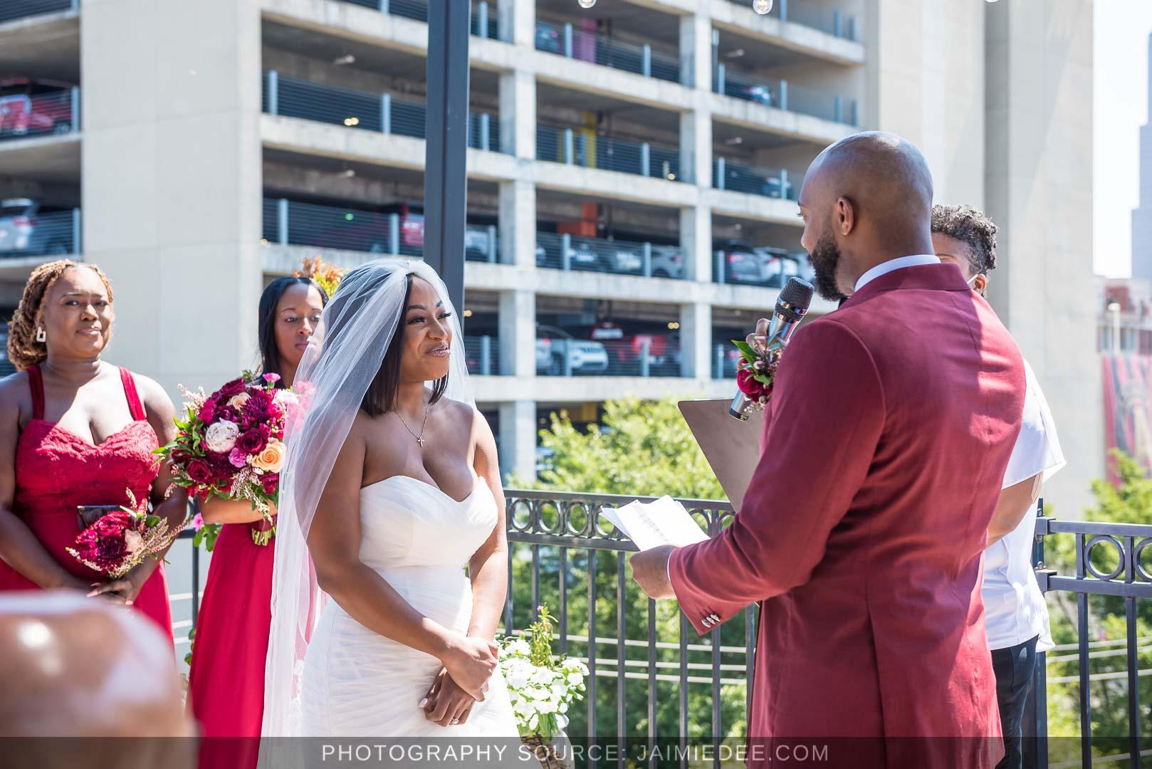 Terminus 330 Wedding Ceremony Photos