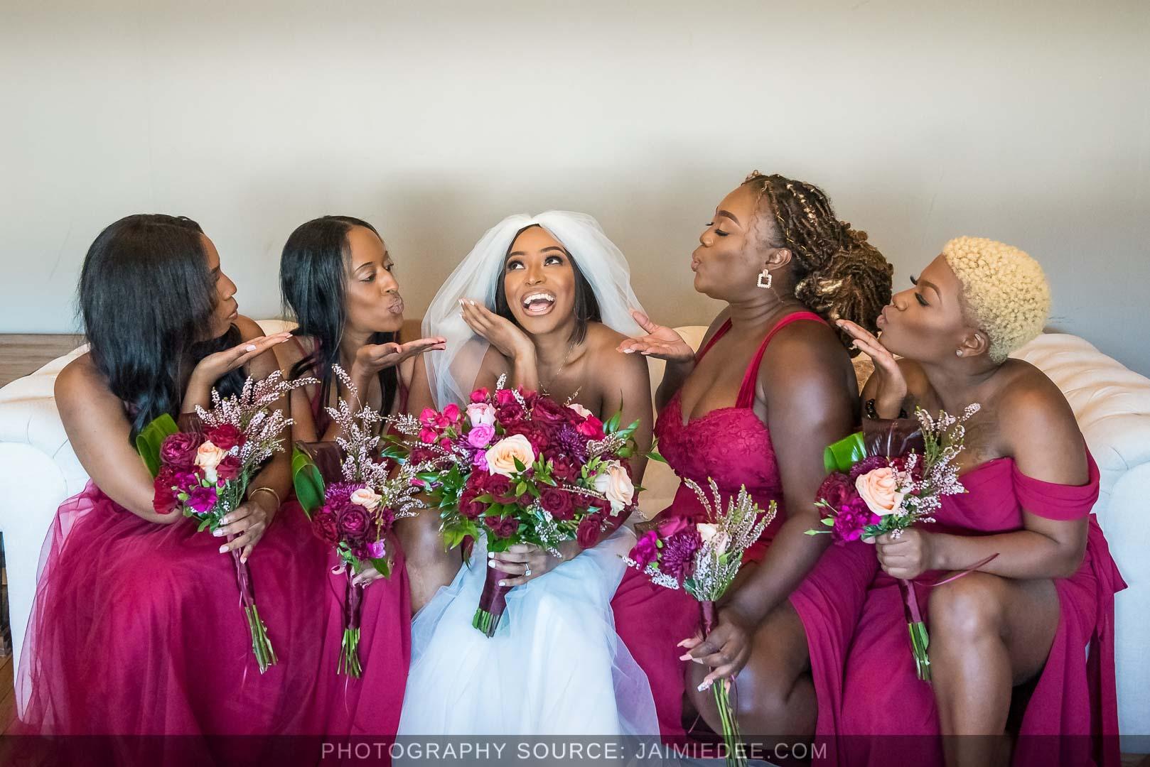 Terminus 330 Wedding Photos bridesmaids