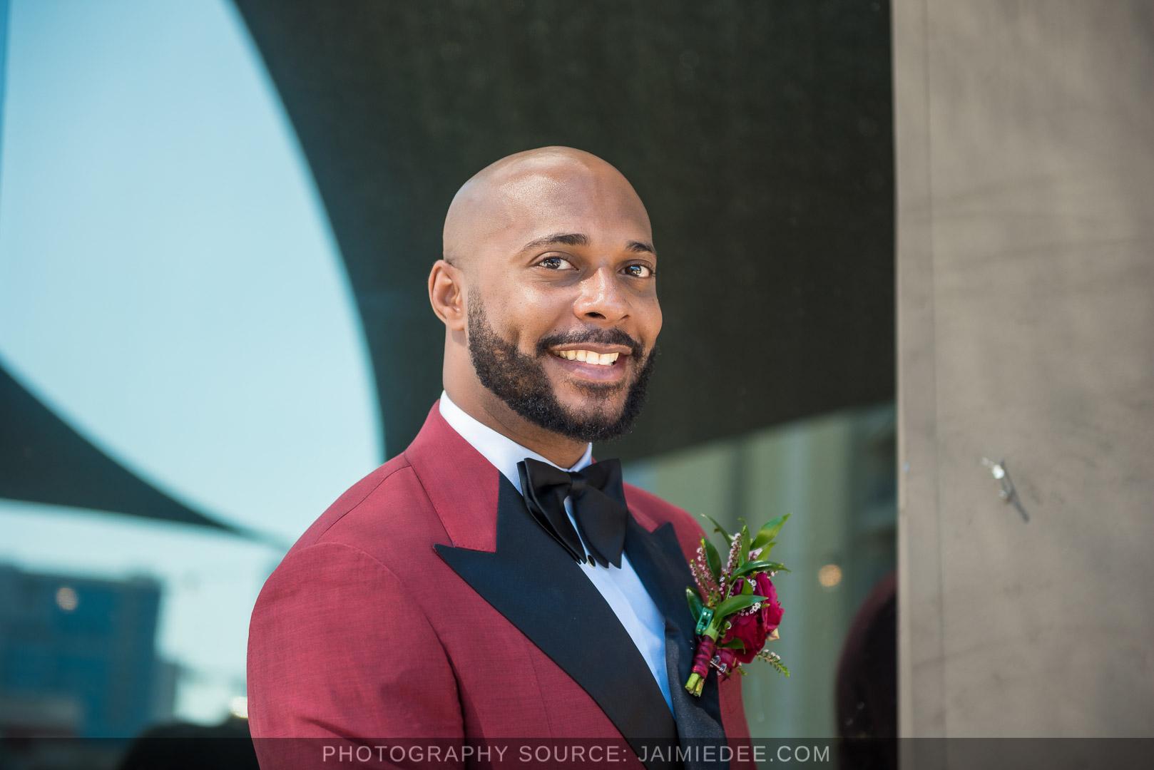 Terminus 330 Wedding Photos groom