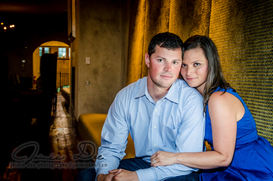 Atlanta Wedding Photographers | Montaluce Winery Engagement Photo