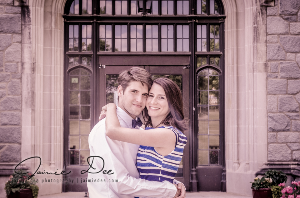 Atlanta Wedding Photographers | Oglethorpe University Engagement Pictures