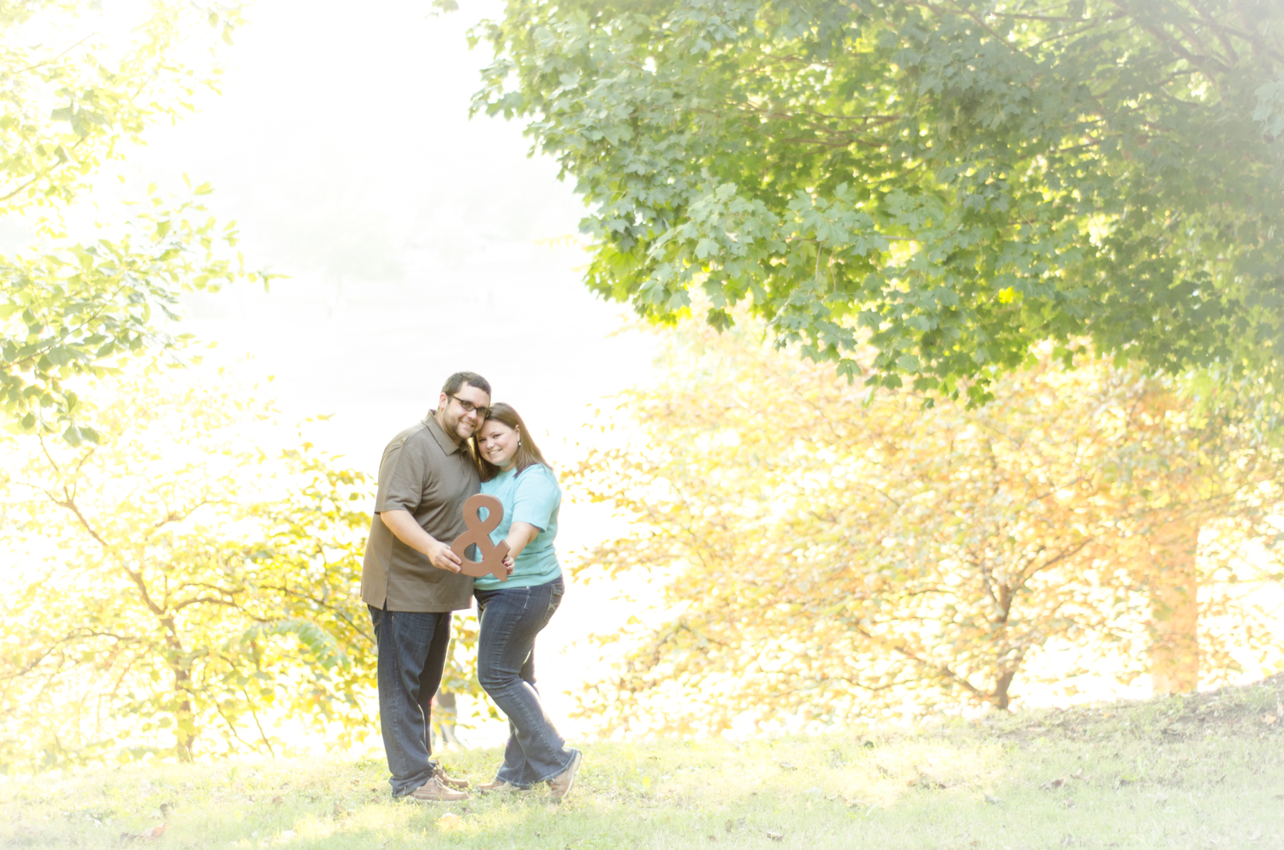 Piedmont Park Engagement Photos | Becky & Chris