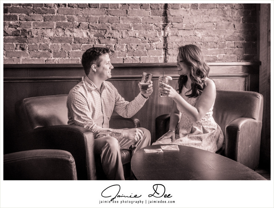 Downtown Lawrenceville Engagement Photos | Atlanta Wedding Photographer