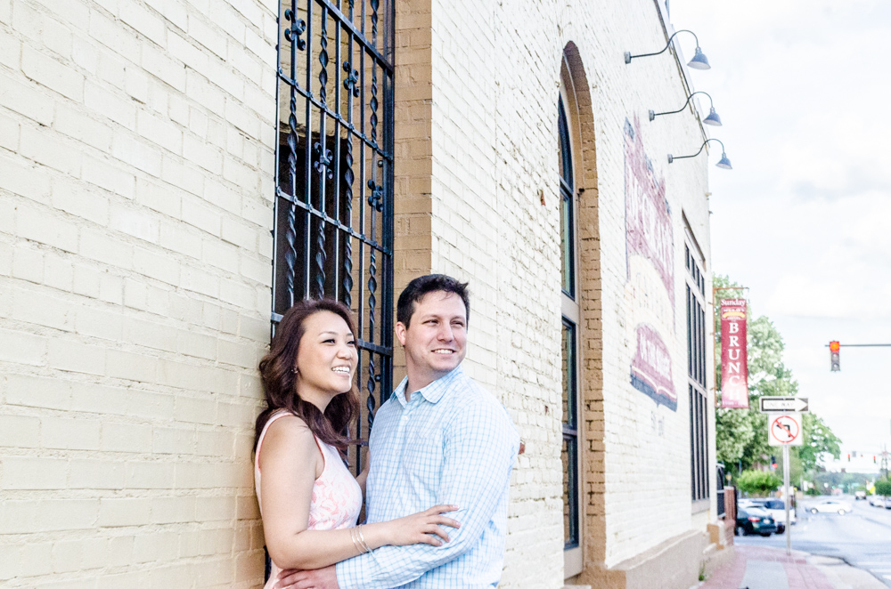 Downtown Lawrenceville Engagement | Atlanta Wedding Photographers