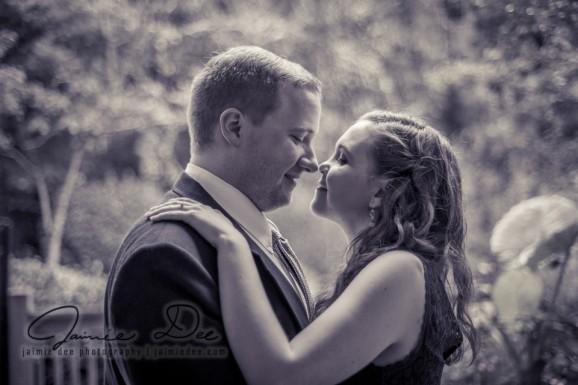 Engagement Photos at Home | Atlanta Wedding Photographers