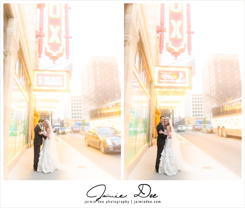 fox theater wedding | atlanta wedding photographers