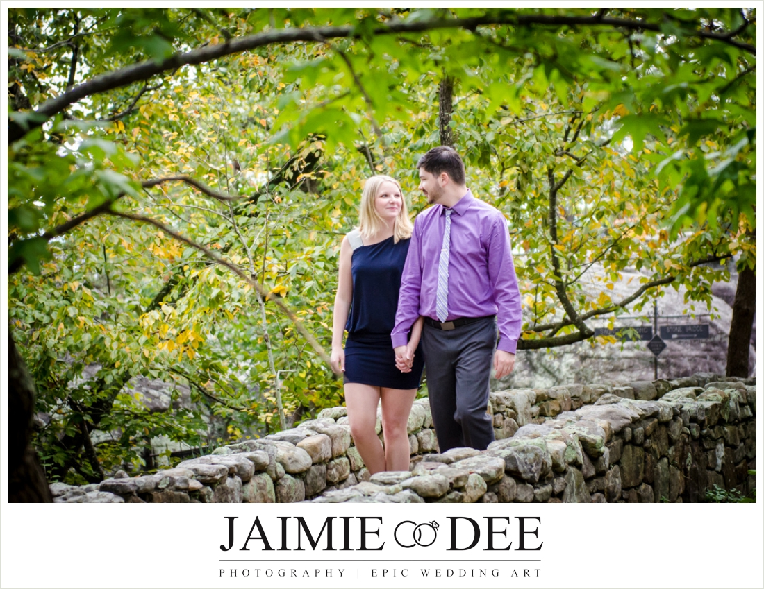 Lookout Mountain Engagement Photos