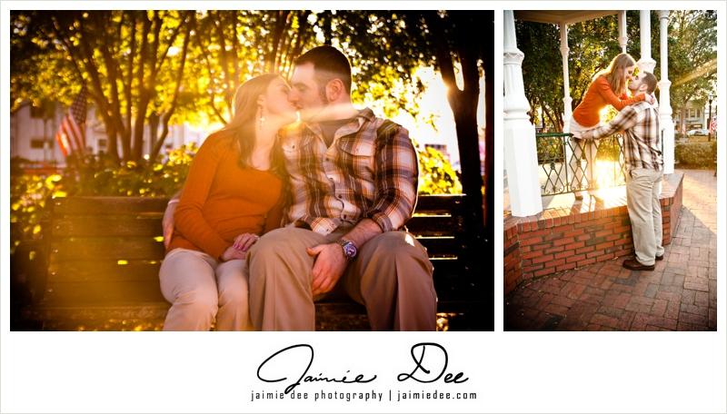 Marietta Square Engagement Photos | Atlanta Wedding Photographers