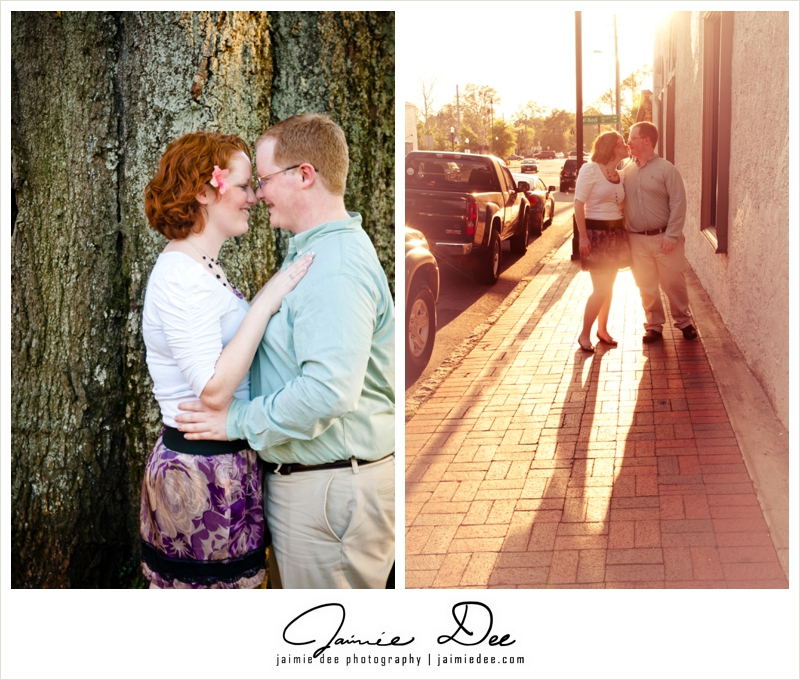 Marietta Square Engagement Photos | Atlanta Wedding Photography
