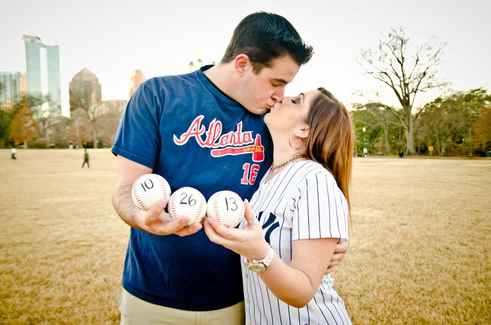 Piedmont Park Engagement Photos | Atlanta Wedding Photographer | Lauren & Chris