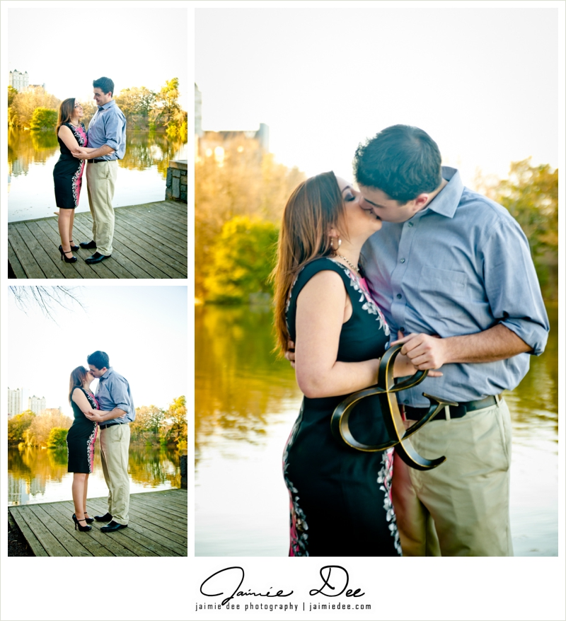 Piedmont Park Engagement Photos | Atlanta Wedding Photographer
