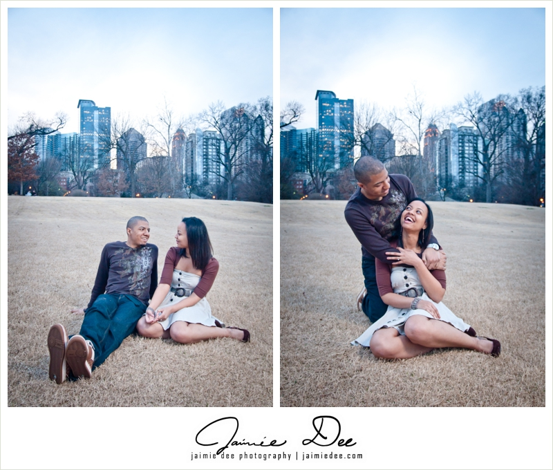 Piedmont Park Engagement Photos | Atlanta Wedding Photography