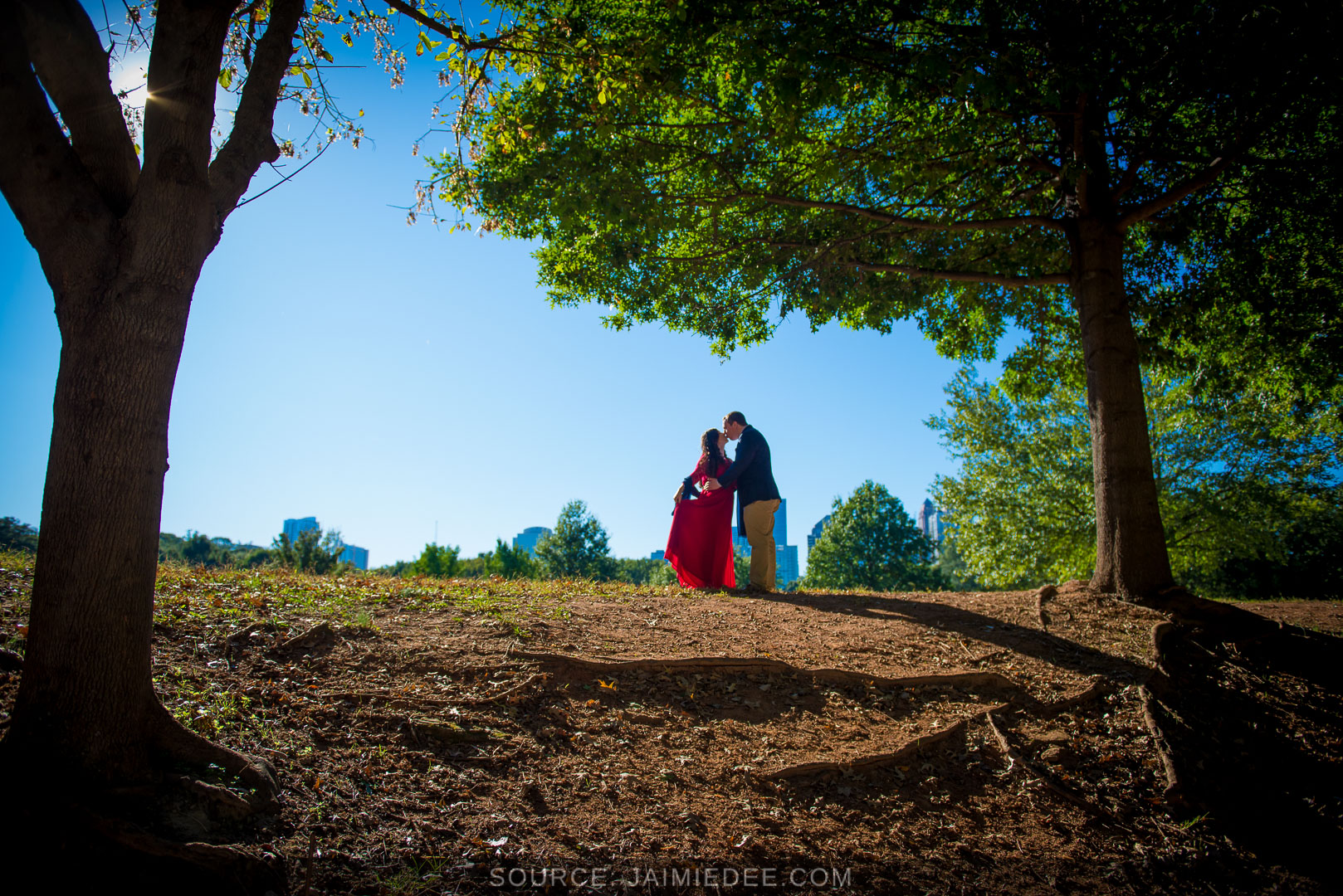 Piedmont-Park-Photoshoot-engagement session