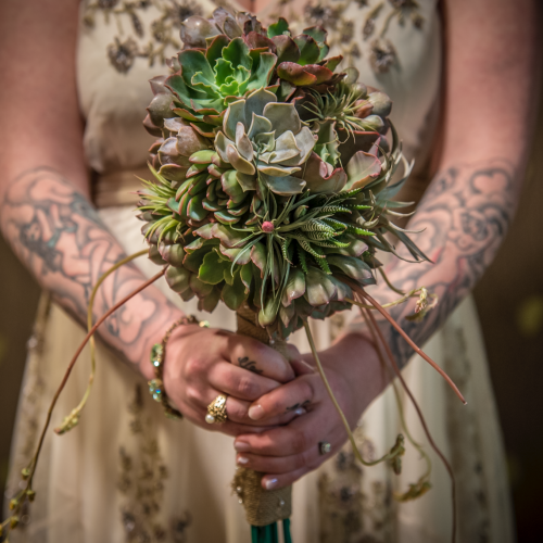 atlanta wedding photography succulents
