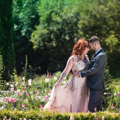 atlanta wedding photographer botanical gardens