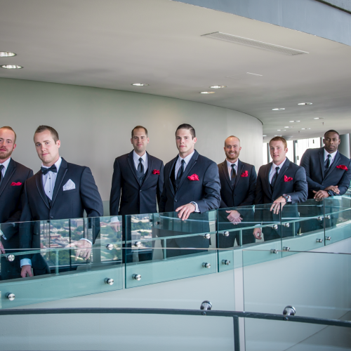 Atlanta Wedding Photographer Groomsmen