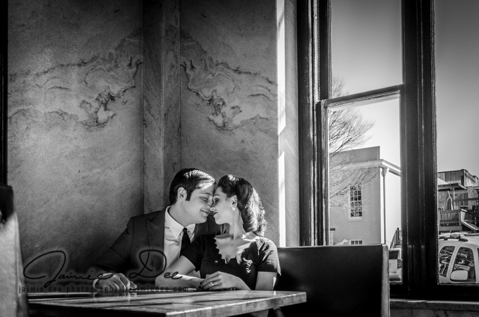South Kitchen and Bar | Athens Engagement Photos | Atlanta Wedding Photographer