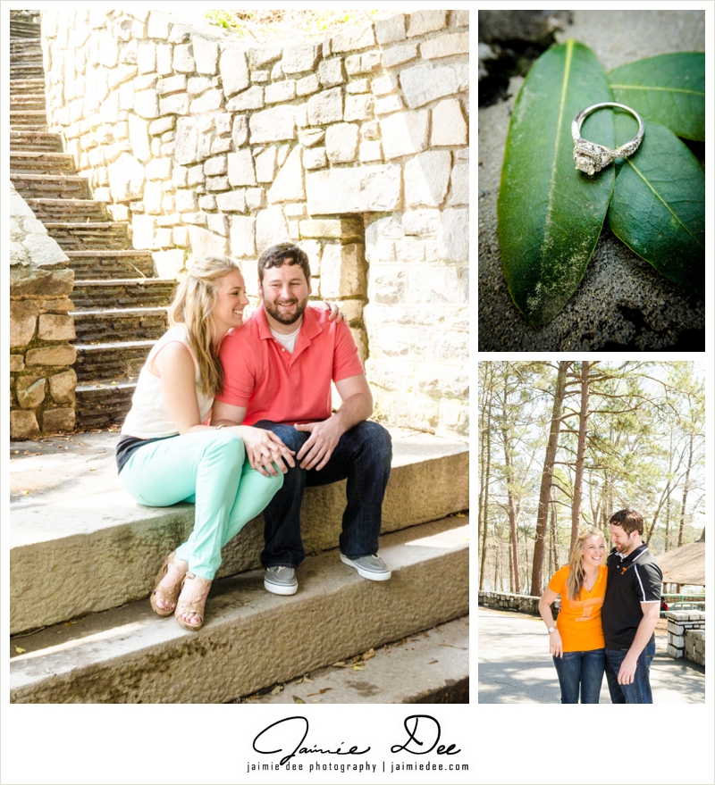 Stone Mountain Engagement Photos | Atlanta Wedding Photography