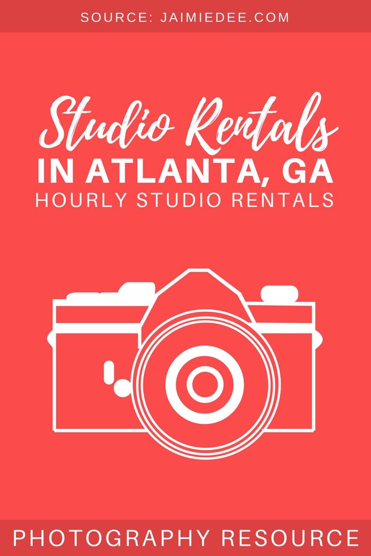 Studio Rental Atlanta