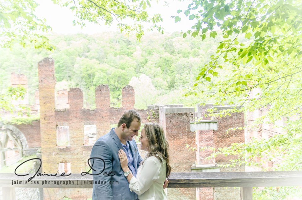 Sweetwater Creek State Park Engagement Pictures | Atlanta Wedding Photographers