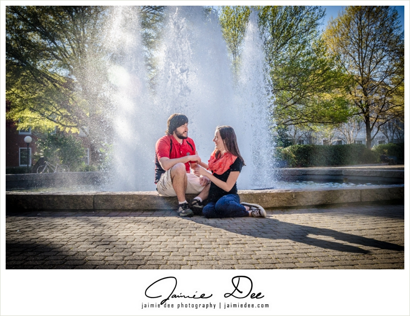 Uga Engagement Pictures | Atlanta Wedding Photography