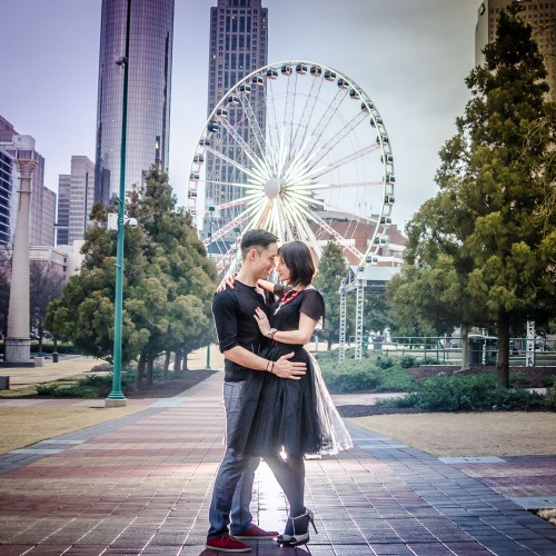 atlanta engagement photographers