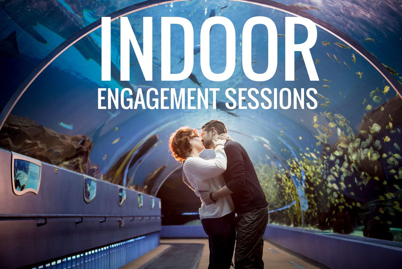 indoor engagement photos