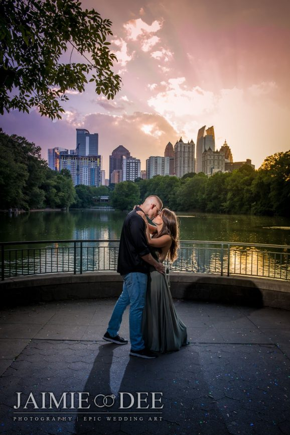 Atlanta Wedding Photography | Piedmont Park Engagement Photos