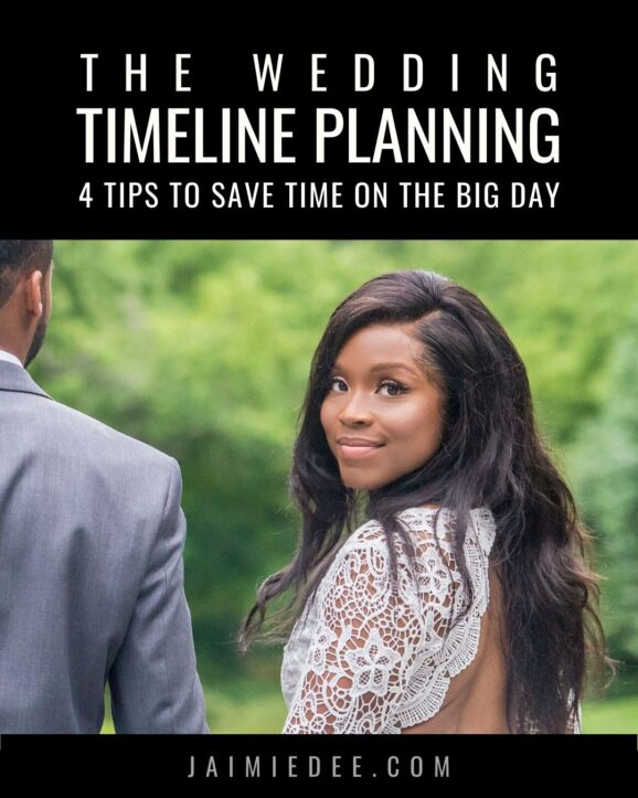 How to Save Time on Your Wedding Day