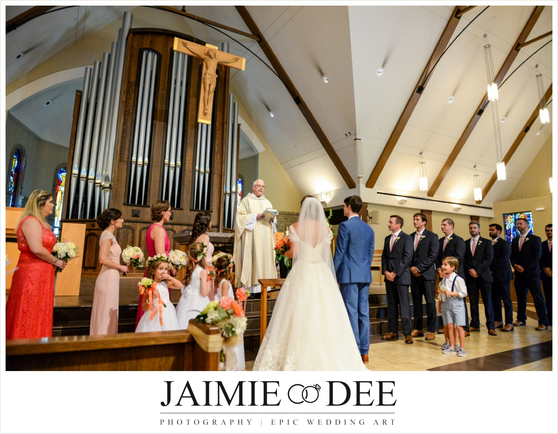 Immaculate Heart of Mary Atlanta Wedding Photographers