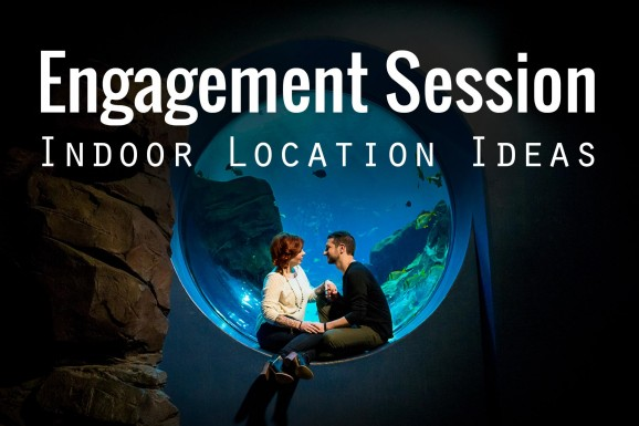 How to Find Indoor Engagement Session Locations | Indoor Photoshoot Location Ideas