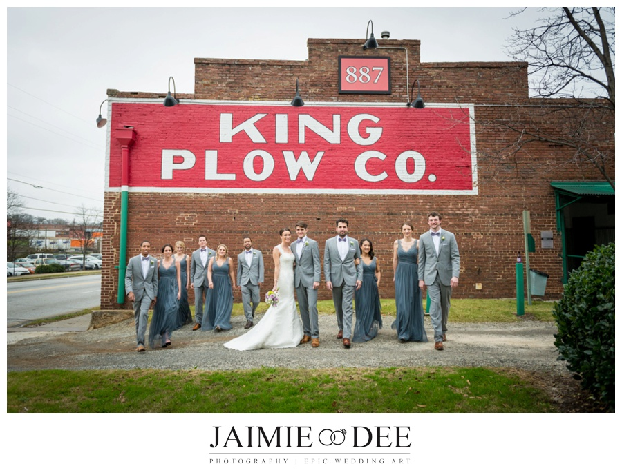 king plow wedding pictures | atlanta wedding photographers