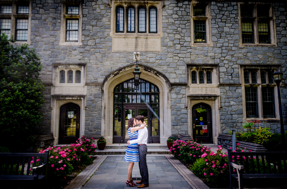 Oglethorpe University Engagement Session | Atlanta Wedding Photographer