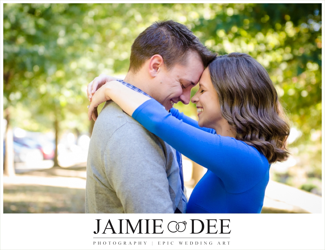 piedmont park engagement photos - atlanta wedding photographer
