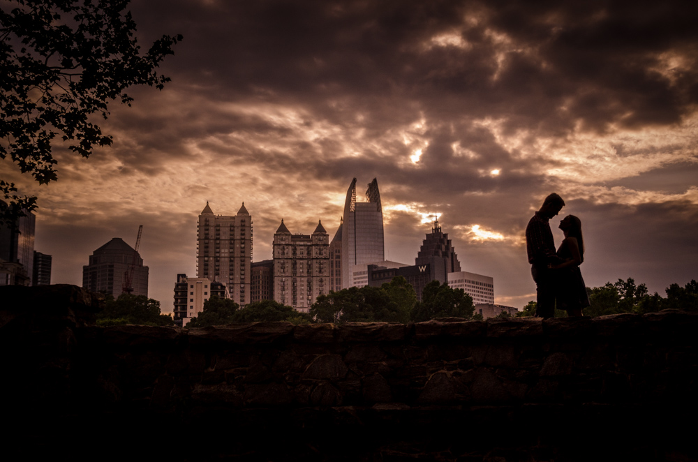 Piedmont Park Engagement Photos | Atlanta Wedding Photographers