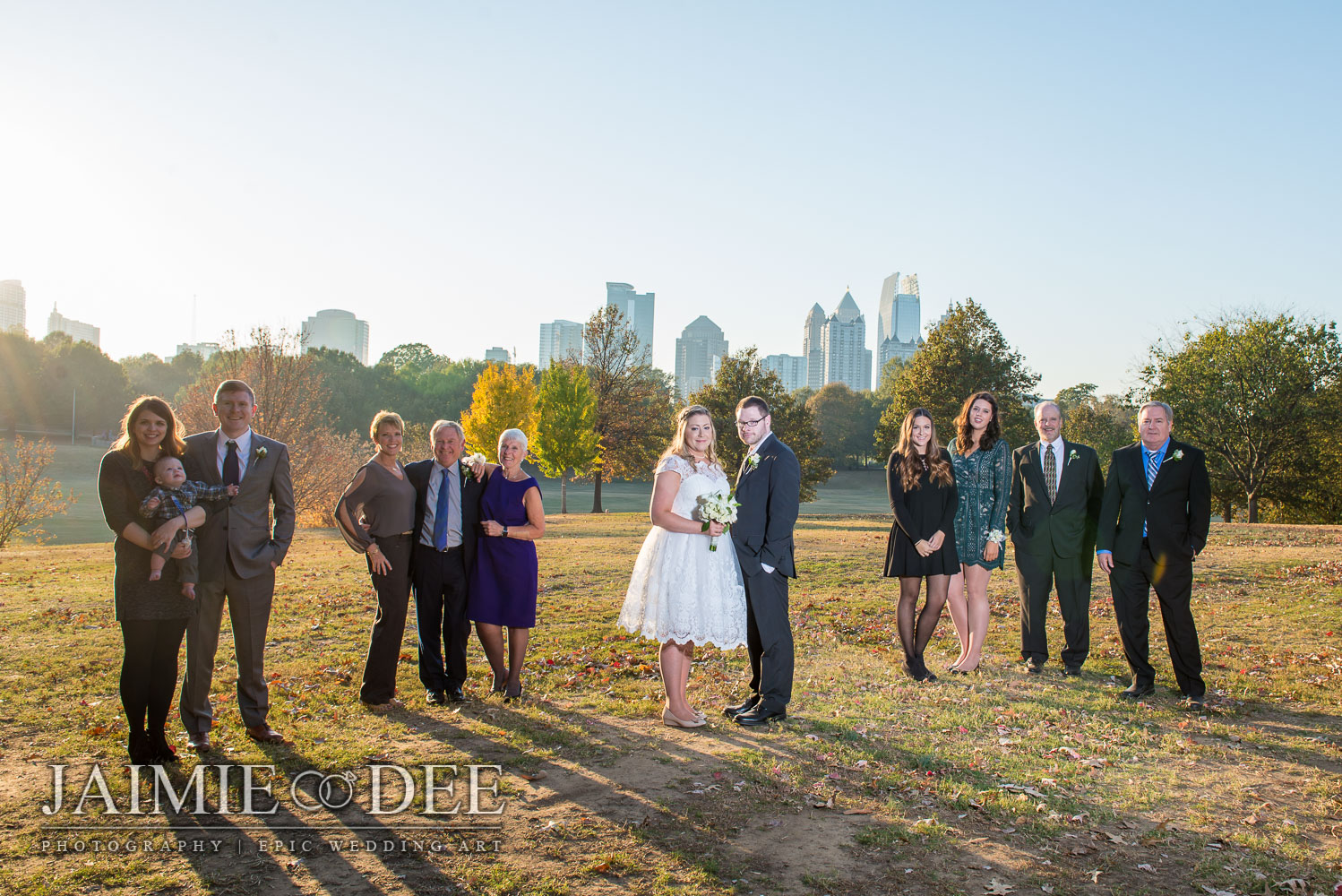piedmont park wedding photos | atlanta wedding photographers
