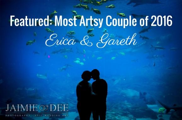 Aquarium Engagement Photos | Atlanta Wedding Photography